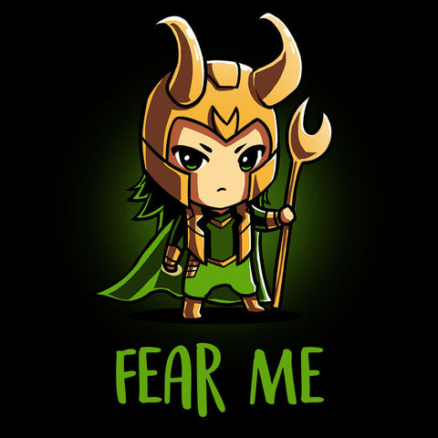 Fear Me T-Shirt Marvel TeeTurtle