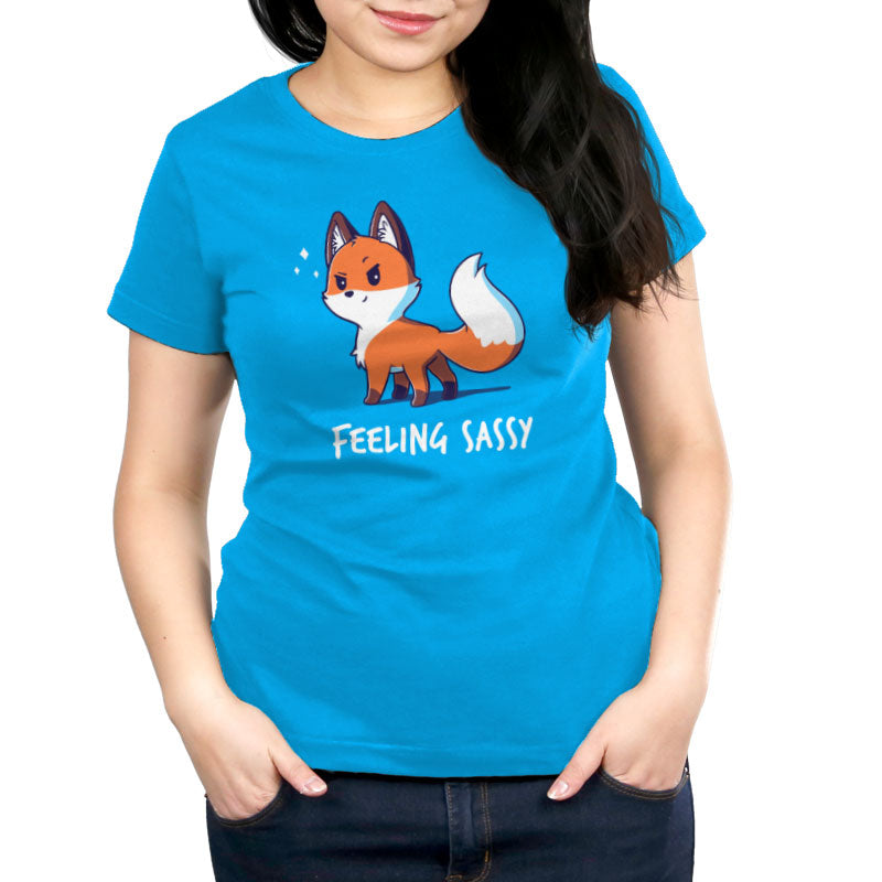 Feeling Sassy Women's T-Shirt Model TeeTurtle