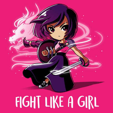 Fight Like a Girl t-shirt TeeTurtle