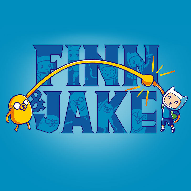 Finn and Jake Shirt t-shirt Adventure Time TeeTurtle