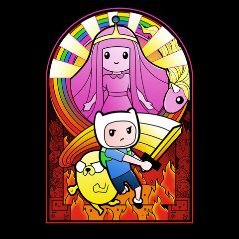 Finn the Hero t-shirt Adventure Time TeeTurtle