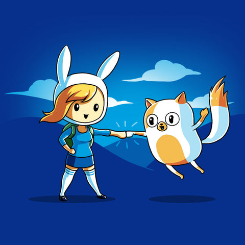 Fionna and Cake T-Shirt Adventure Time TeeTurtle