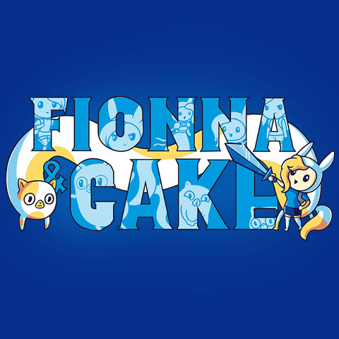 Fionna and Cake Shirt t-shirt Adventure Time TeeTurtle