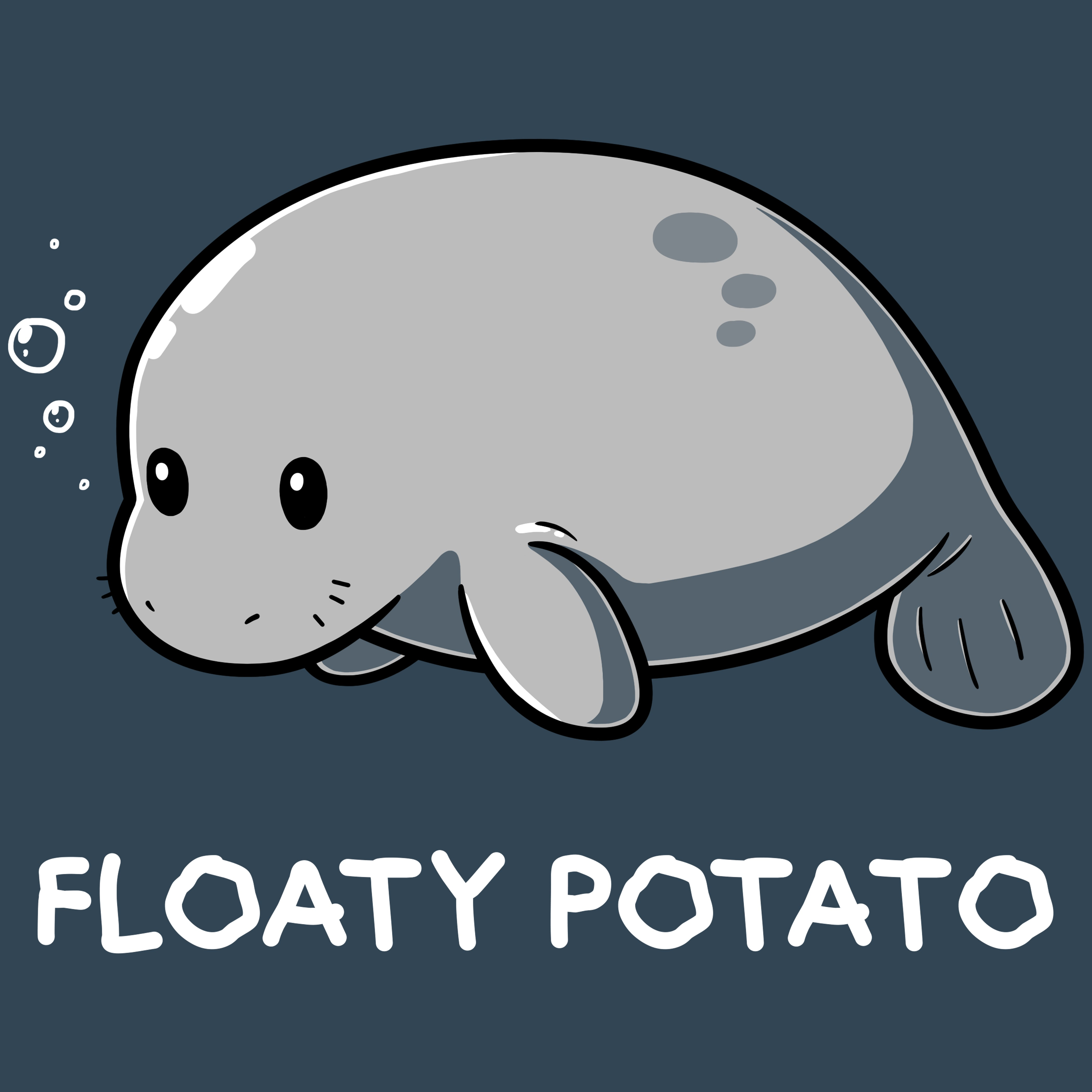 Floaty Potato T-Shirt TeeTurtle