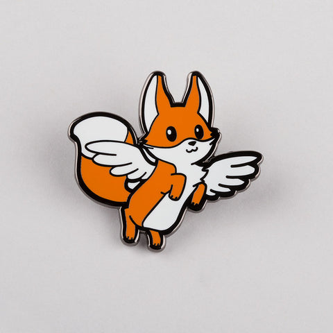 Flying Fox Pin TeeTurtle