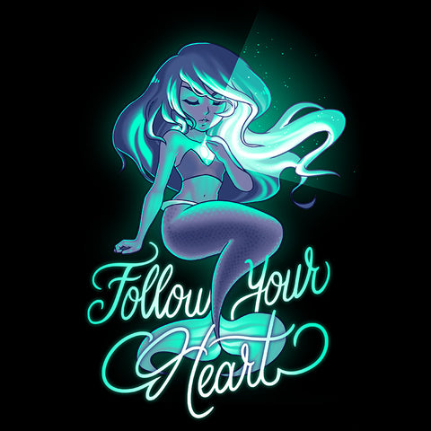 Follow Your Heart t-shirt TeeTurtle