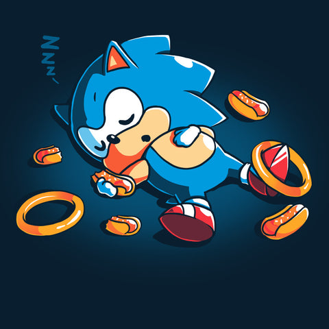 Food Coma T-Shirt Sonic the Hedgehog TeeTurtle