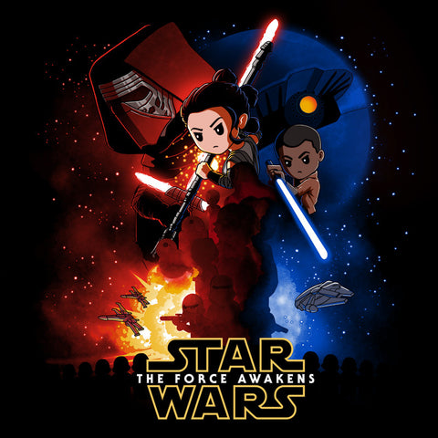 Star Wars: Episode VII - The Force Awakens T-Shirt Star Wars TeeTurtle