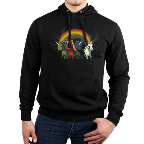 Four Unicorns of the Apocalypse Hoodie