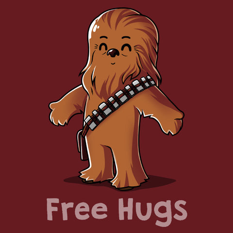 Hug a Wookie t-shirt Star Wars TeeTurtle