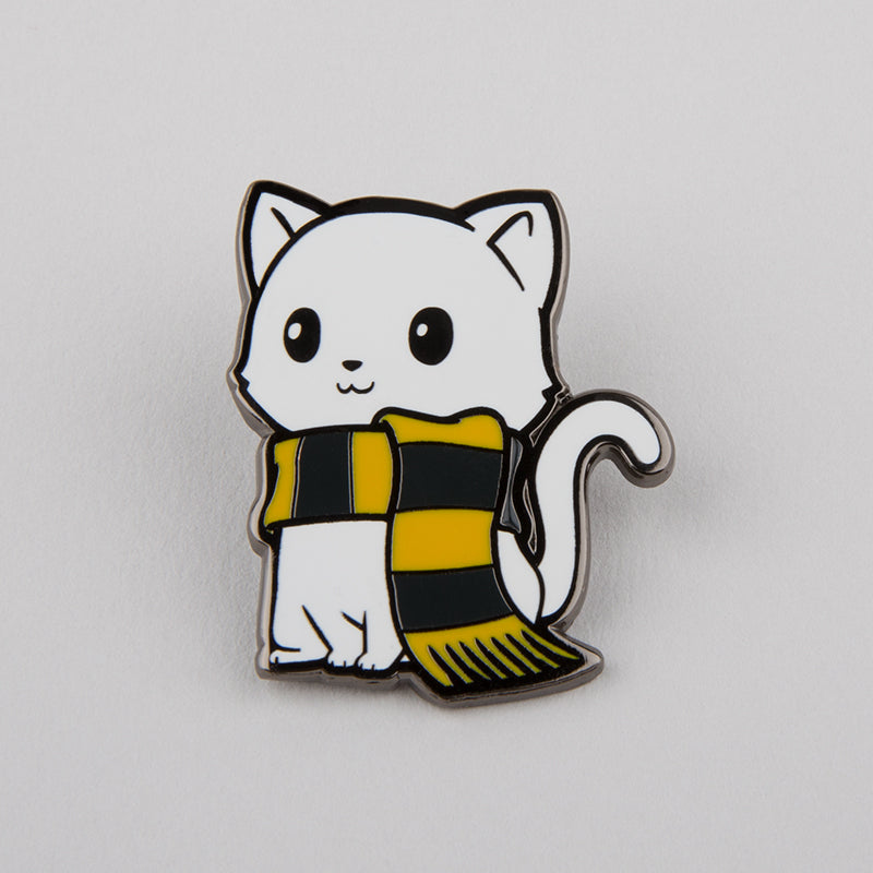 Friendly Kitty Charm Pin TeeTurtle