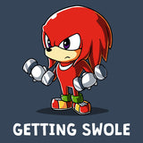 Getting Swole t-shirt Sonic the Hedgehog TeeTurtle