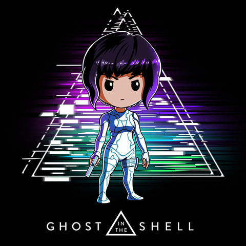 Ghost in the Shell t-shirt Ghost in the Shell TeeTurtle