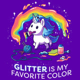 Glitter is My Favorite Color T-Shirt TeeTurtle