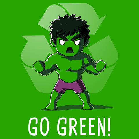 Go Green! T-Shirt Marvel TeeTurtle