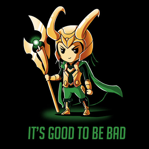 It's Good to be Bad t-shirt Marvel TeeTurtle