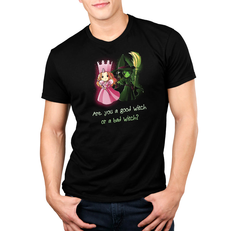 Which Witch? Standard Unisex t-shirt model Wizard of Oz TeeTurtle