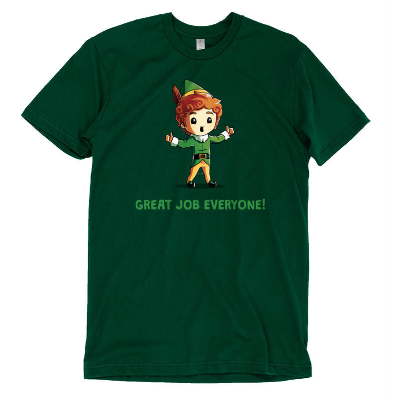 Great Job Everyone! T-Shirt Elf TeeTurtle
