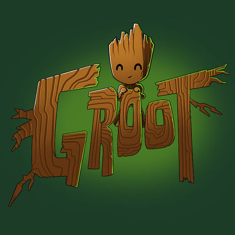 Groot Shirt t-shirt Marvel TeeTurtle