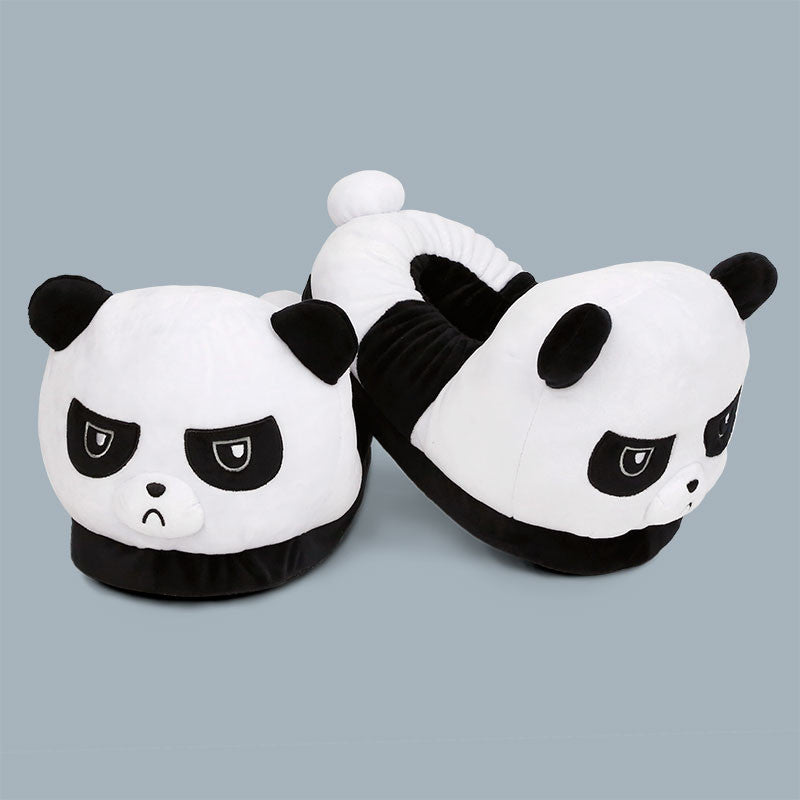 Grumpy Panda Slippers TeeTurtle