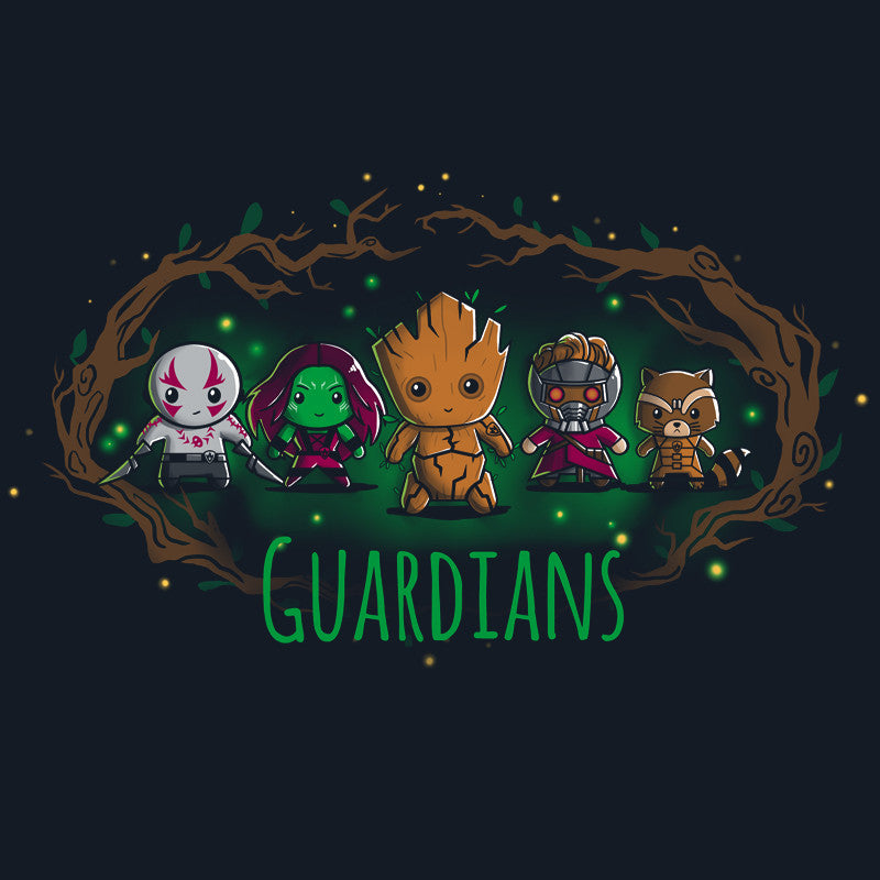 Guardians t-shirt Marvel TeeTurtle