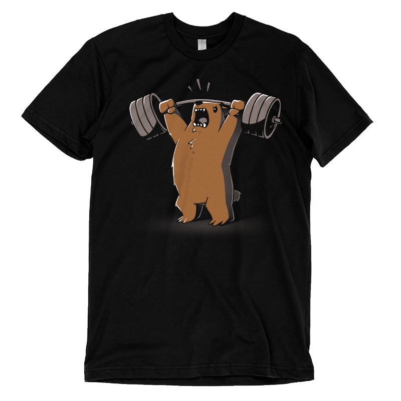 Gym Bear T-Shirt TeeTurtle