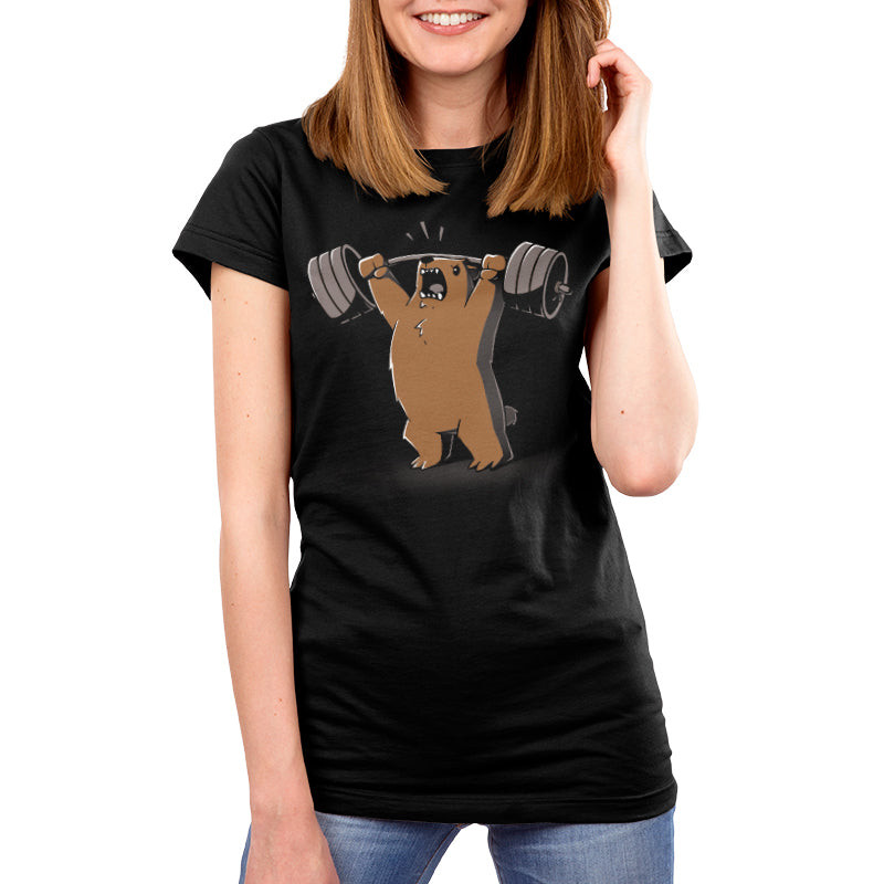 Gym Bear Women's T-Shirt Model TeeTurtle