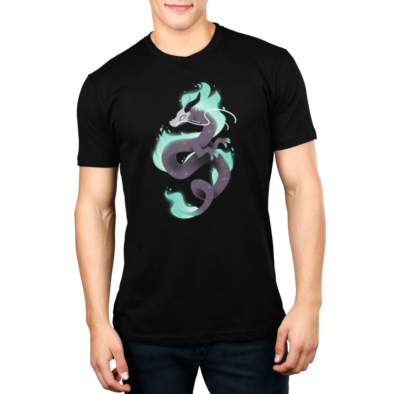 Halloween Dragon Men's T-Shirt Model TeeTurtle