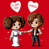 Cutest Couple in the Galaxy T-Shirt Star Wars TeeTurtle