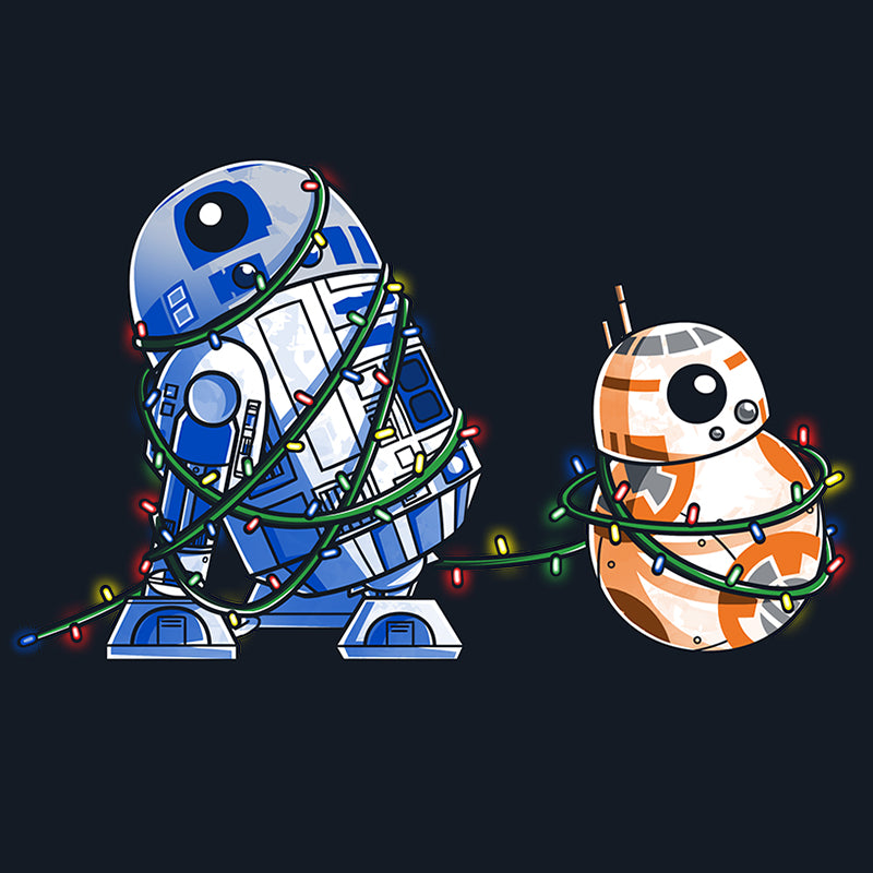 Happy Holidroids! T-Shirt Star Wars TeeTurtle