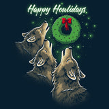 Happy Howlidays T-Shirt TeeTurtle