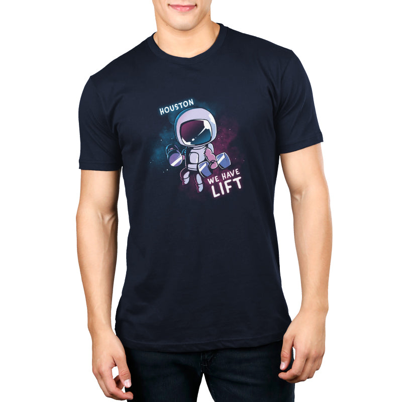 Houston, We Have Lift Men's T-Shirt Model TeeTurtle