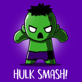 Hulk Smash! T-Shirt Marvel TeeTurtle