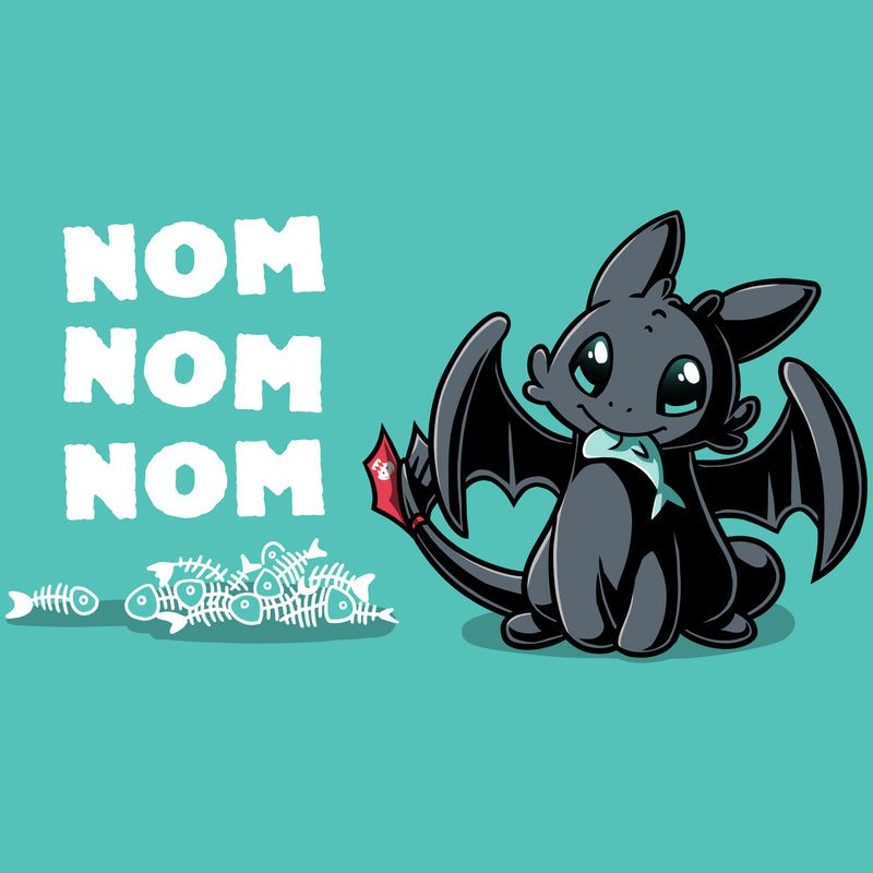 Hungry Toothless T-Shirt Dreamworks TeeTurtle