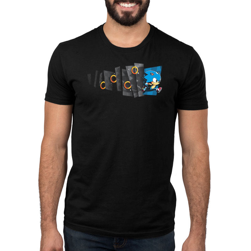 Hyperspeed Standard T-Shirt Model Sega TeeTurtle