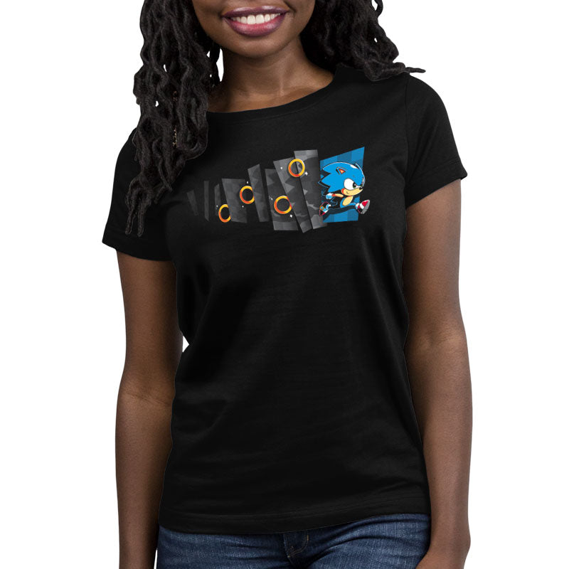 Hyperspeed Women's Relaxed Fit T-Shirt Model Sega TeeTurtle
