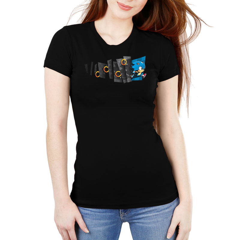 Hyperspeed Women's Ultra Slim T-Shirt Model Sega TeeTurtle