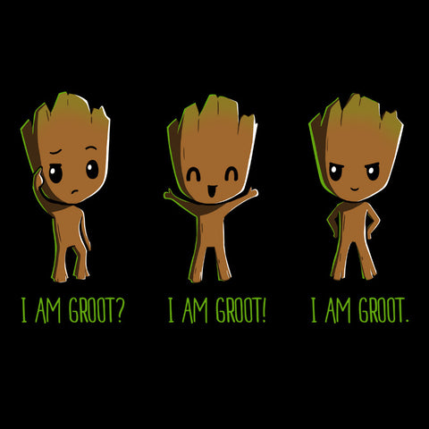 I Am Groot T-Shirt Marvel TeeTurtle