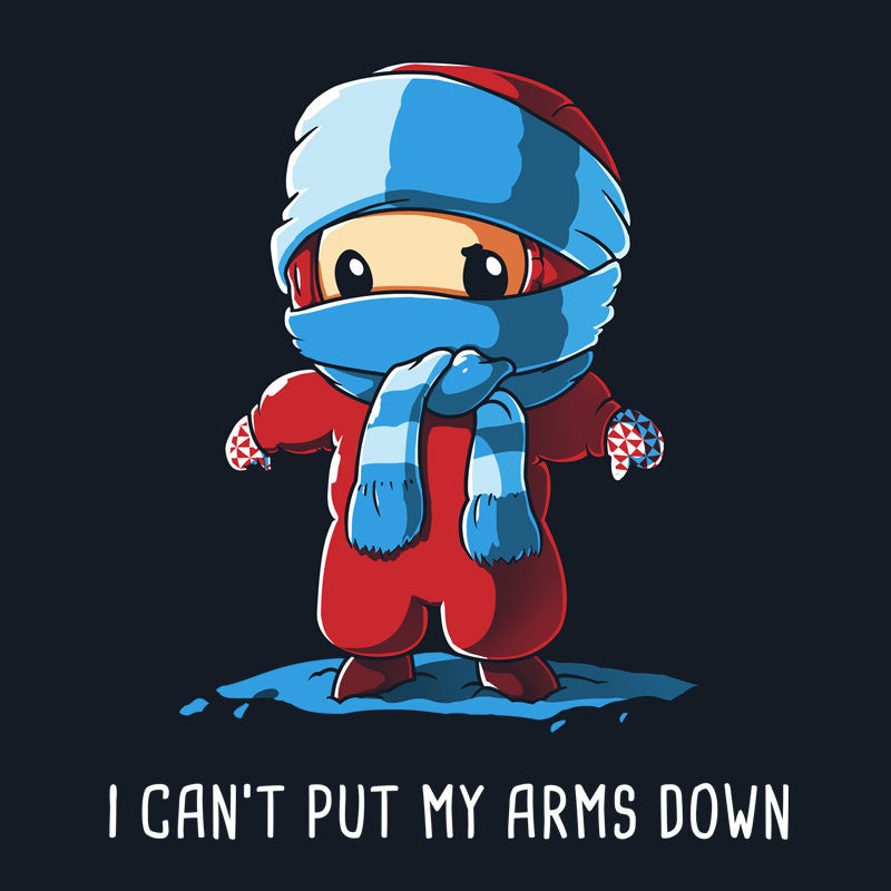I Can't Put My Arms Down T-Shirt A Christmas Story TeeTurtle