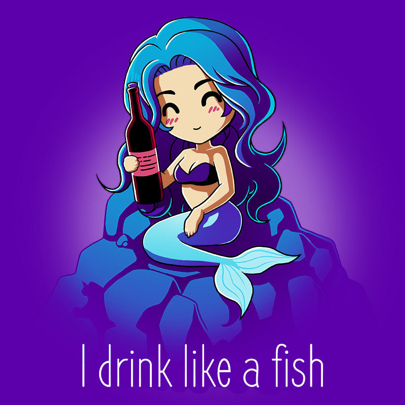 I Drink Like A Fish t-shirt TeeTurtle