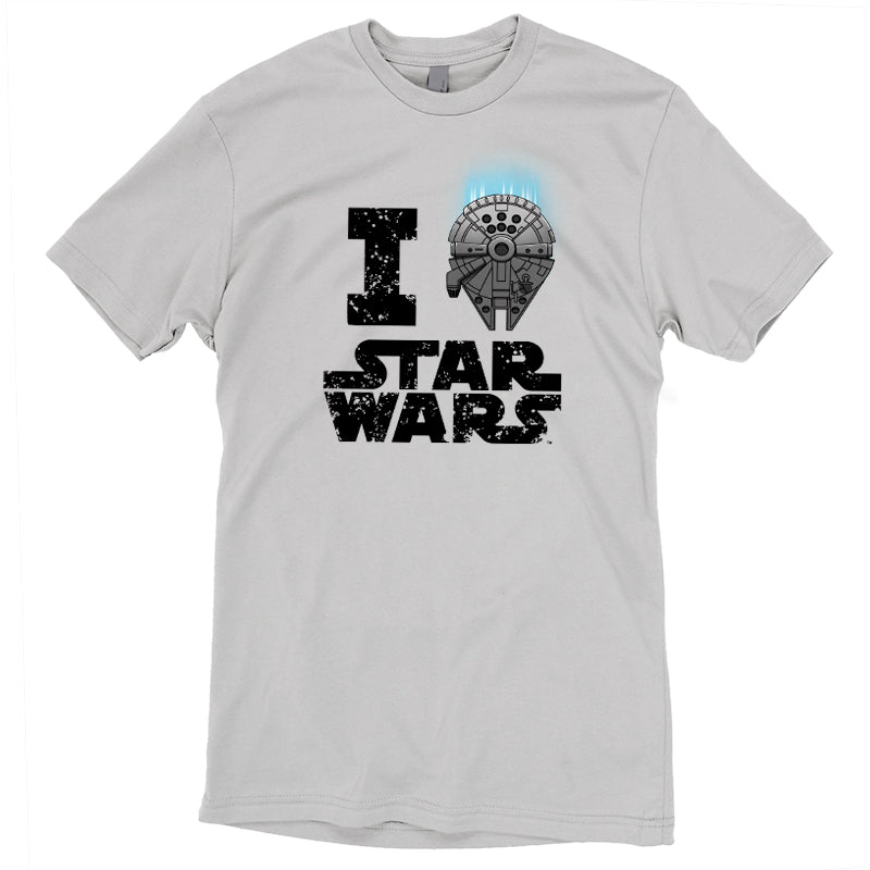 I Heart Star Wars T-Shirt Star Wars TeeTurtle