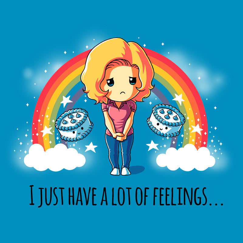 I Just Have a Lot of Feelings t-shirt TeeTurtle Mean Girls