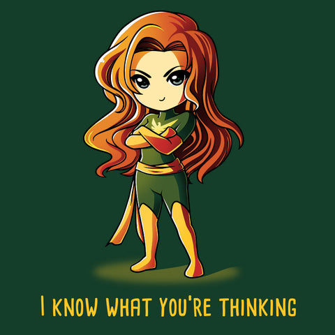 I Know What You're Thinking T-shirt Marvel TeeTurtle