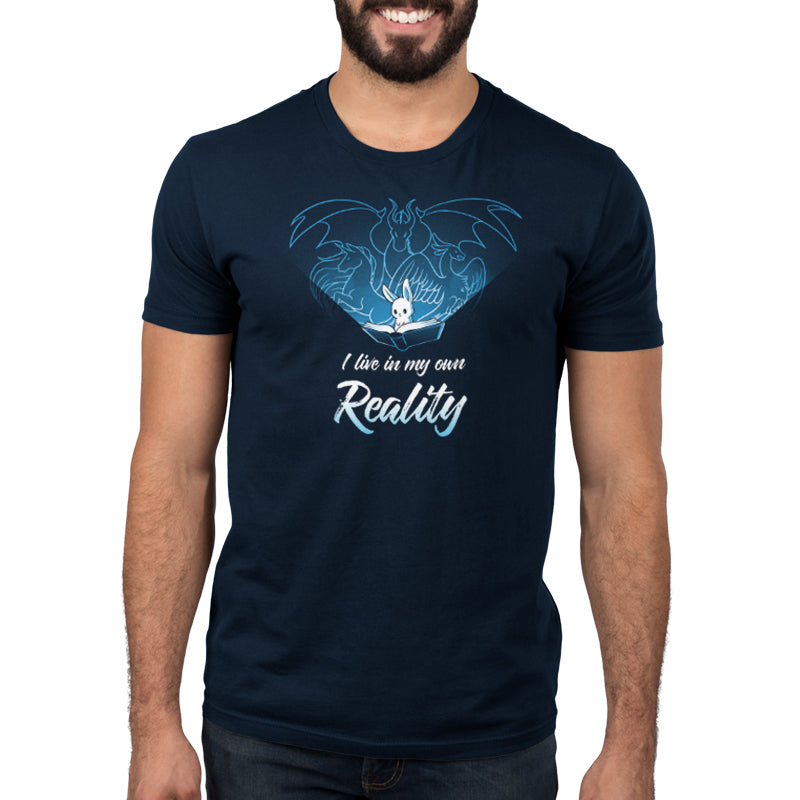 I Live In My Own Reality Men's T-Shirt Model TeeTurtle