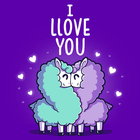 I Llove You T-Shirt TeeTurtle