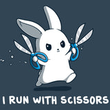 I Run With Scissor T-Shirt TeeTurtle