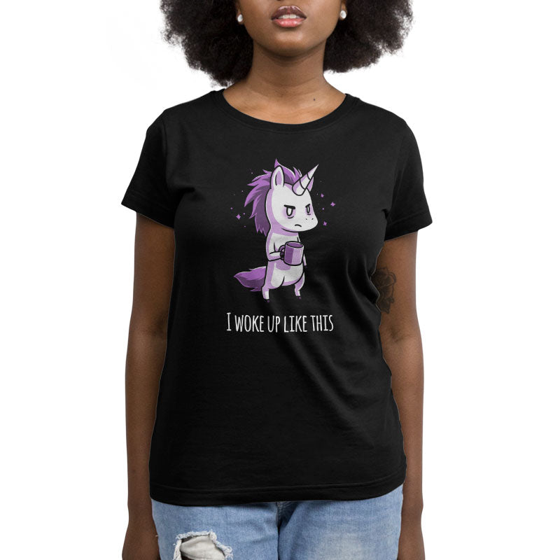 Morning Unicorn Women's Relaxed Fit T-Shirt Model TeeTurtle
