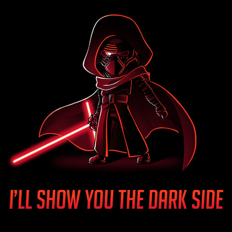 I'll Show You the Dark Side t-shirt Star Wars TeeTurtle