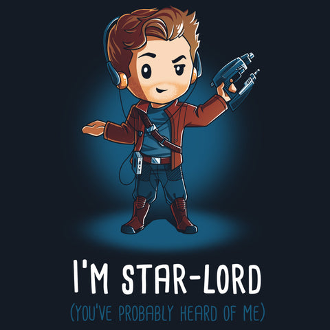 I'm Star-Lord t-shirt Marvel TeeTurtle