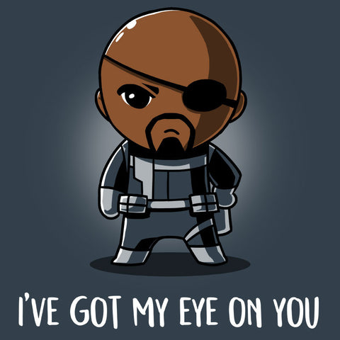 I've Got My Eye on You T-Shirt Marvel TeeTurtle